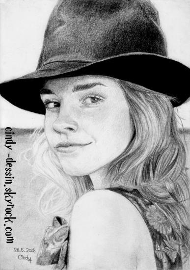 Emma Watson by cindy-dessin